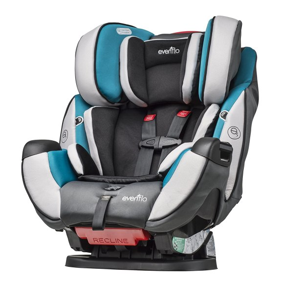 Image result for Evenflo Symphony DLX All-In-One Convertible Car Seat