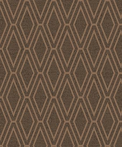 Opulent Shimmer Diamond Geometric Wallpaper Copper Holden Decor 65380 Amazon Com