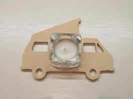 VW BUS T3 Teelicht Halter Weihnachtsgeschenk