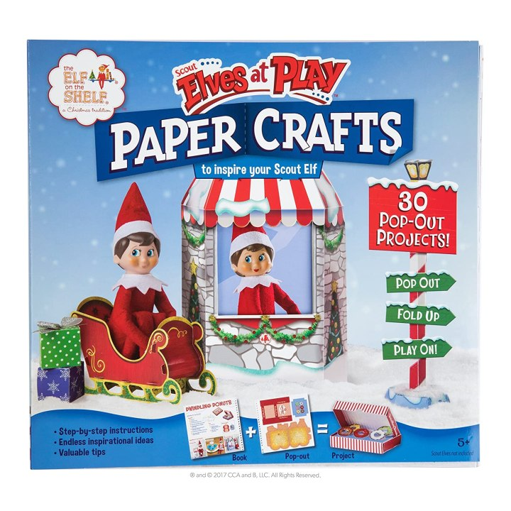 Elf on the Shelf - Elves At Play Paper Crafts