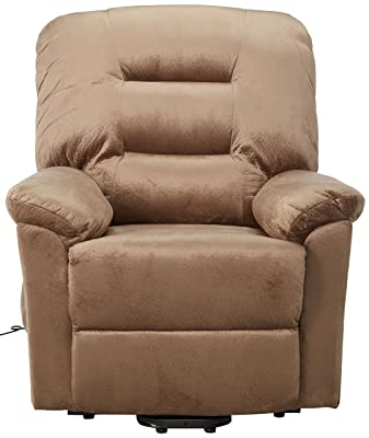 Upholstery-Power-Lift-Recliner-Brown-Sugar-Reviews