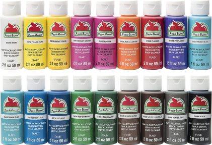 best paint for styrofoam - Apple Barrel