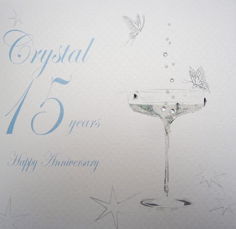Wedding Anniversary Crystal Deweddingjpg