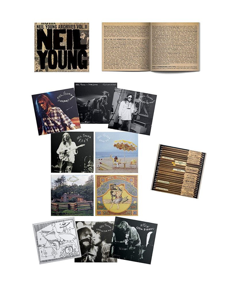 Archives Vol. II: Neil Young, Neil Young: Amazon.fr: Musique