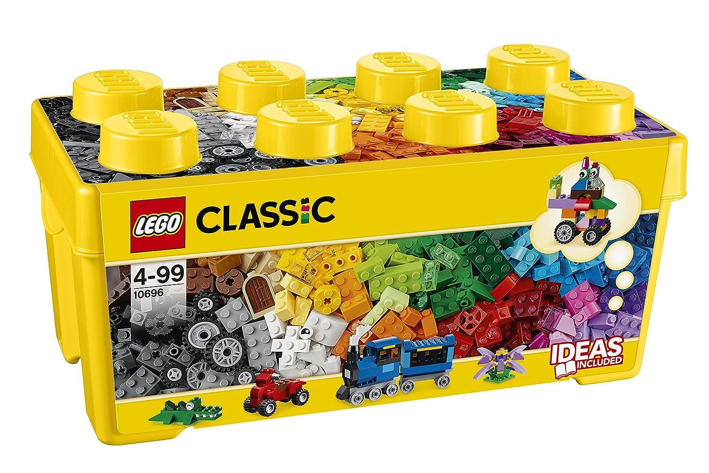 LEGO Classic Medium Creative Bricks Kids 484 Piece Building Box Set | 10696