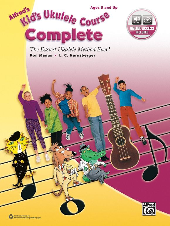 Amazon.com: Alfred's Kid's Ukulele Course Complete: The Easiest ...