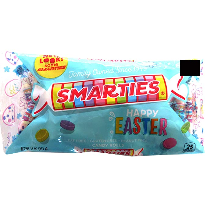 Smarties (1 bag) Happy Easter Candy Rolls 11 oz. Bag