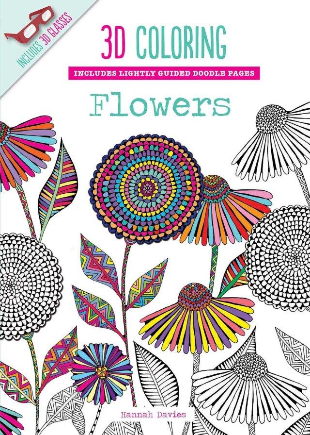 22D Coloring Flowers: Segal, Emma: 22: Amazon.com: Books