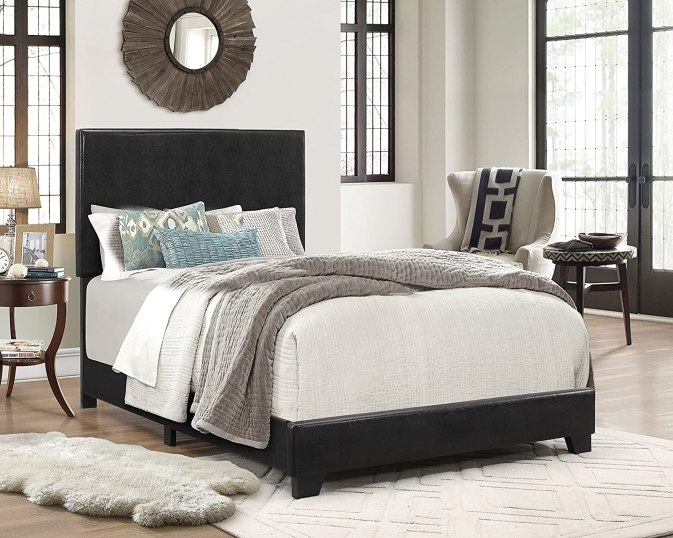 Crown Mark Upholstered Panel Bed Review