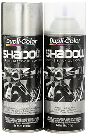 Dupli Color Shd1000 Shadow Chrome Black Out Coating Kit