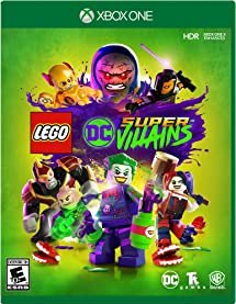 LEGO DC Super-Villains (Available on Nintendo Switch, PlayStation 4, Xbox One, PC) Become the best villain the universe has seen in this all-new LEGO adventure! For the first time, a LEGO game is giving players the ability to play as a super-villain throughout the game, unleashing mischievous antics and wreaking havoc in an action-packed, hilarious story written in collaboration with DC Comics.