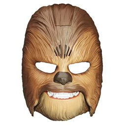Star Wars Movie Roaring Chewbacca Wookiee Sounds Mask – Funny GRAAAAWR Noises, Sound Effects, Ages 5 and up