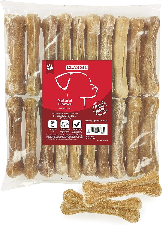 Classic Caldex Snack Perro Huesos de Piel de Buey