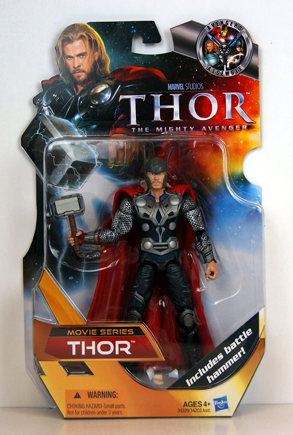 Amazon Com The Mighty Avenger Movie Series Thor Exclusive Action Figure Movie Series Toys Games