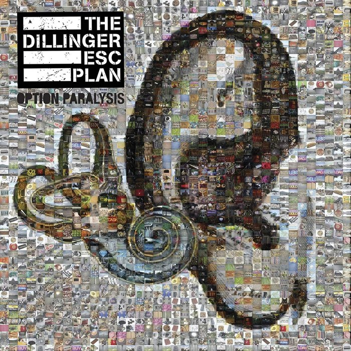 Image result for the dillinger escape plan option paralysis