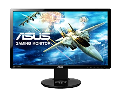 "ASUS VG248QE - Monitor gaming de 24"" Full HD (1920x1080 pixeles, 144 Hz, 1 ms, DVI, HDMI y Display port)"