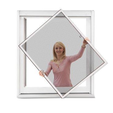 La moustiquaire aux fenêtres à placer soi-même