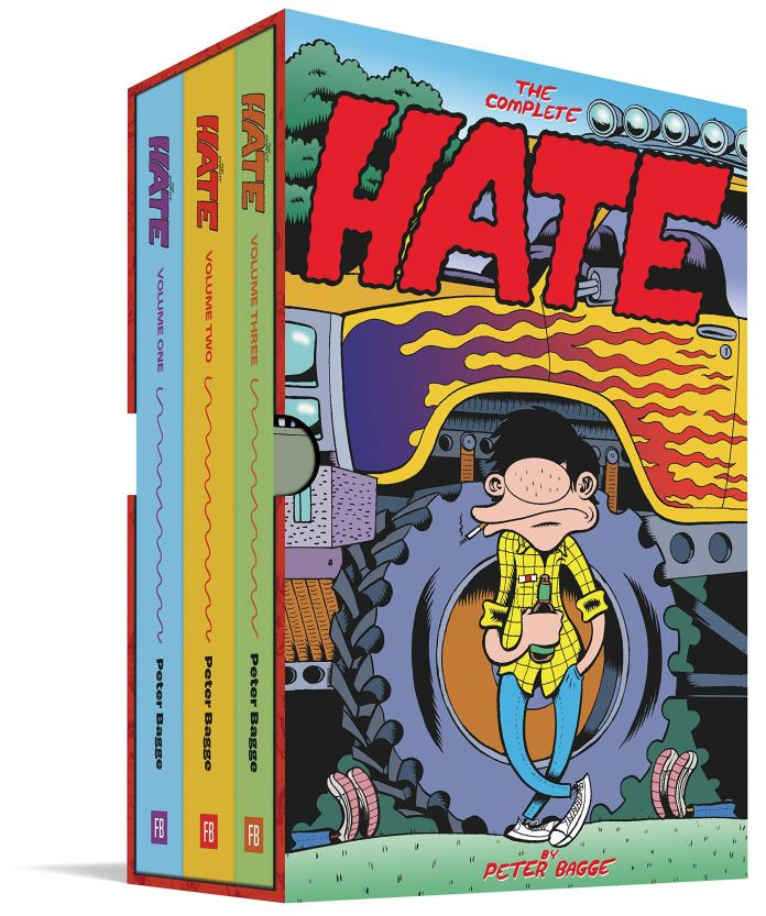 The Complete Hate: 0: Amazon.co.uk: Peter Bagge: 9781683963554: Books