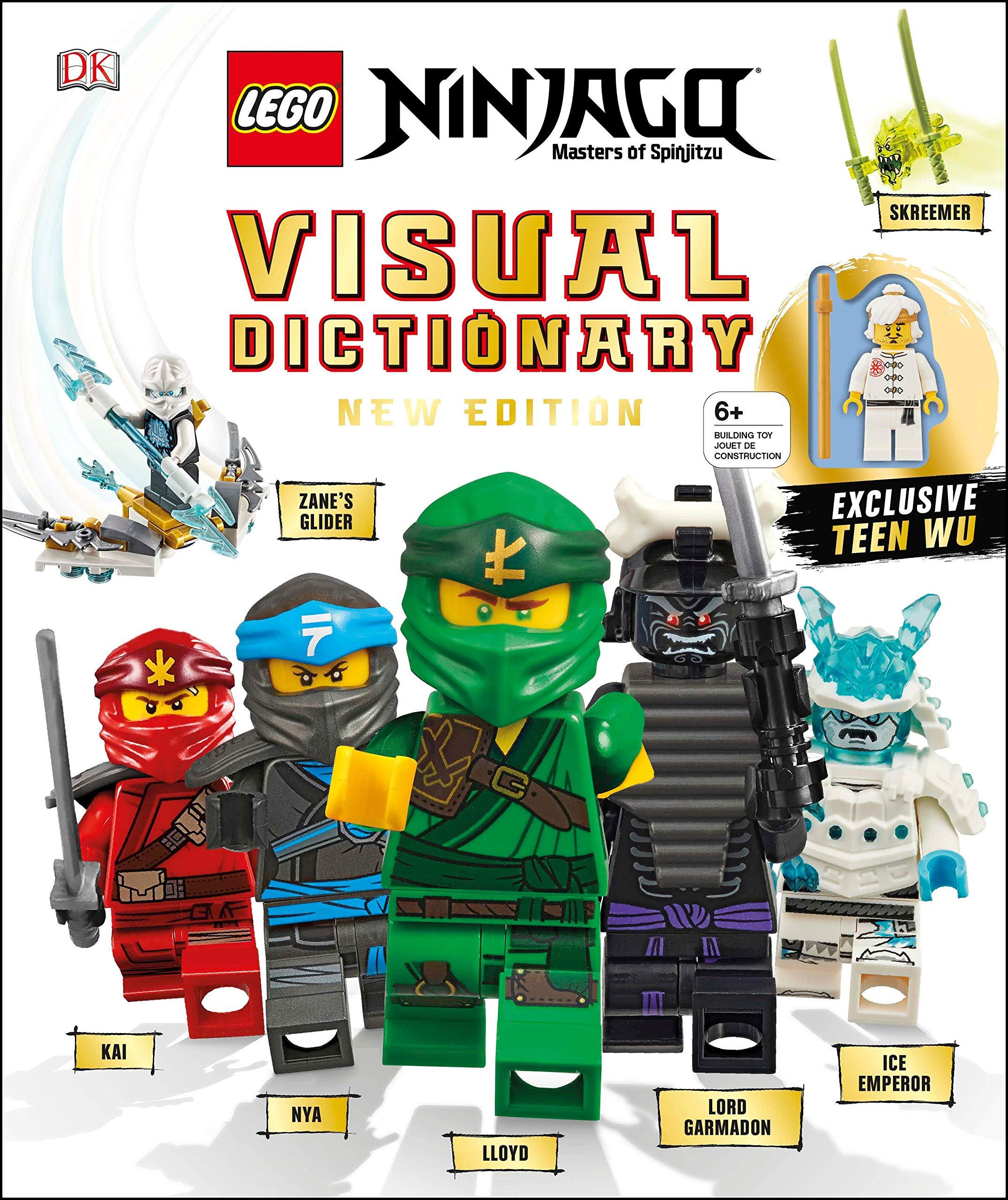 Lego Ninjago Visual Dictionary New Edition With Exclusive Teen Wu Minifigure Kaplan Arie Dolan Hannah 9781465485014 Amazon Com Books