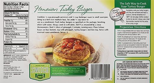 Jennie O Ground Turkey Burger Recipes Chekwiki