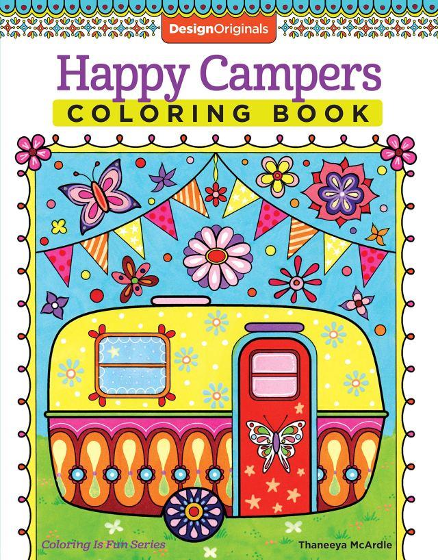Amazon.com: Happy Campers Coloring Book (Coloring is Fun) (Design