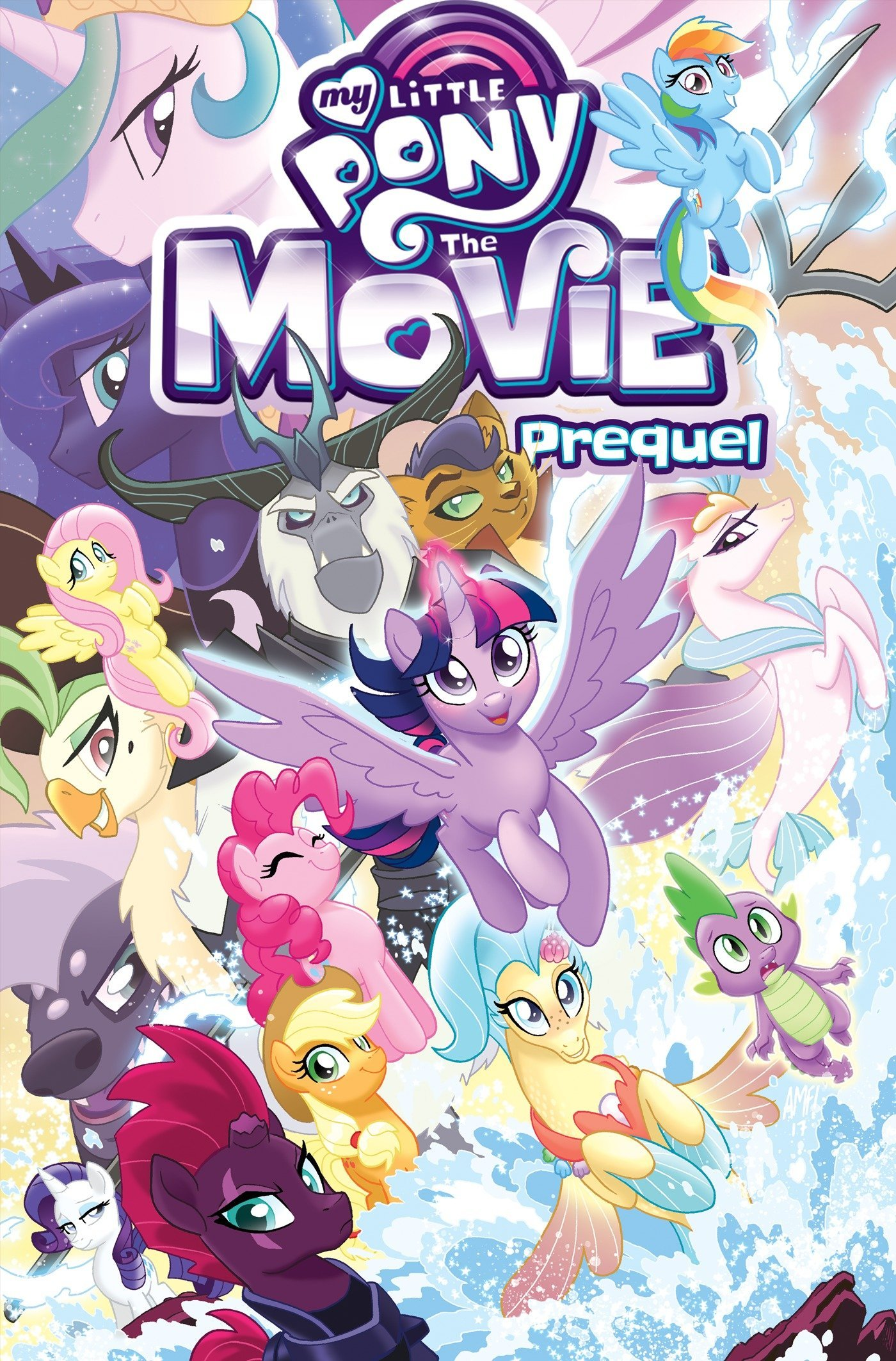 Amazon Com My Little Pony The Movie Prequel Mlp The Movie 9781684051076 Anderson Ted Price Andy Books