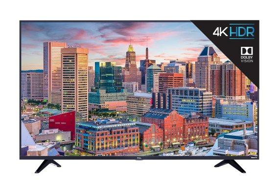 TCL 55S517 55-Inch 4K Ultra HD Roku Smart LED TV Black Friday Deals 2019