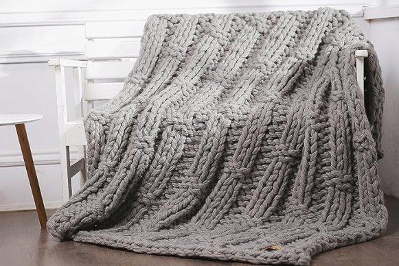 Image result for Knitted Blanket