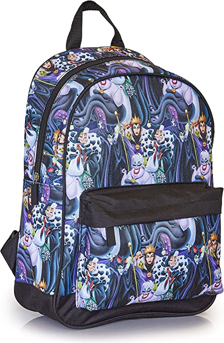 Disney Villains Backpack Rucksack Women Travel Bag Commute Or School Backpacks Official Maleficent Merchandise Disney Gifts For Adults Girls Teens Womens Amazon Co Uk Luggage