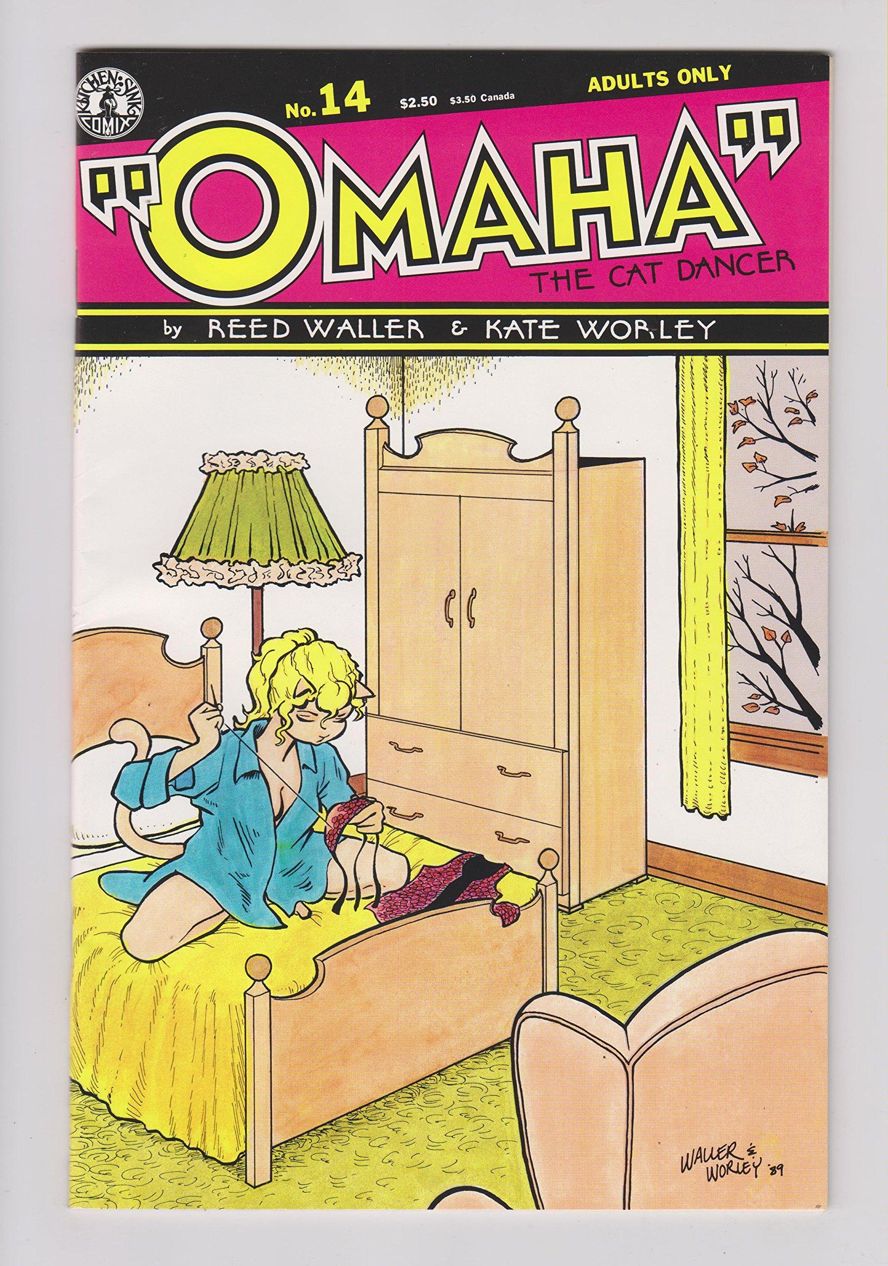 Omaha the Cat Dancer (Kitchen Sink), Edition# 14: Kitchen Sink: Amazon.com:  Books