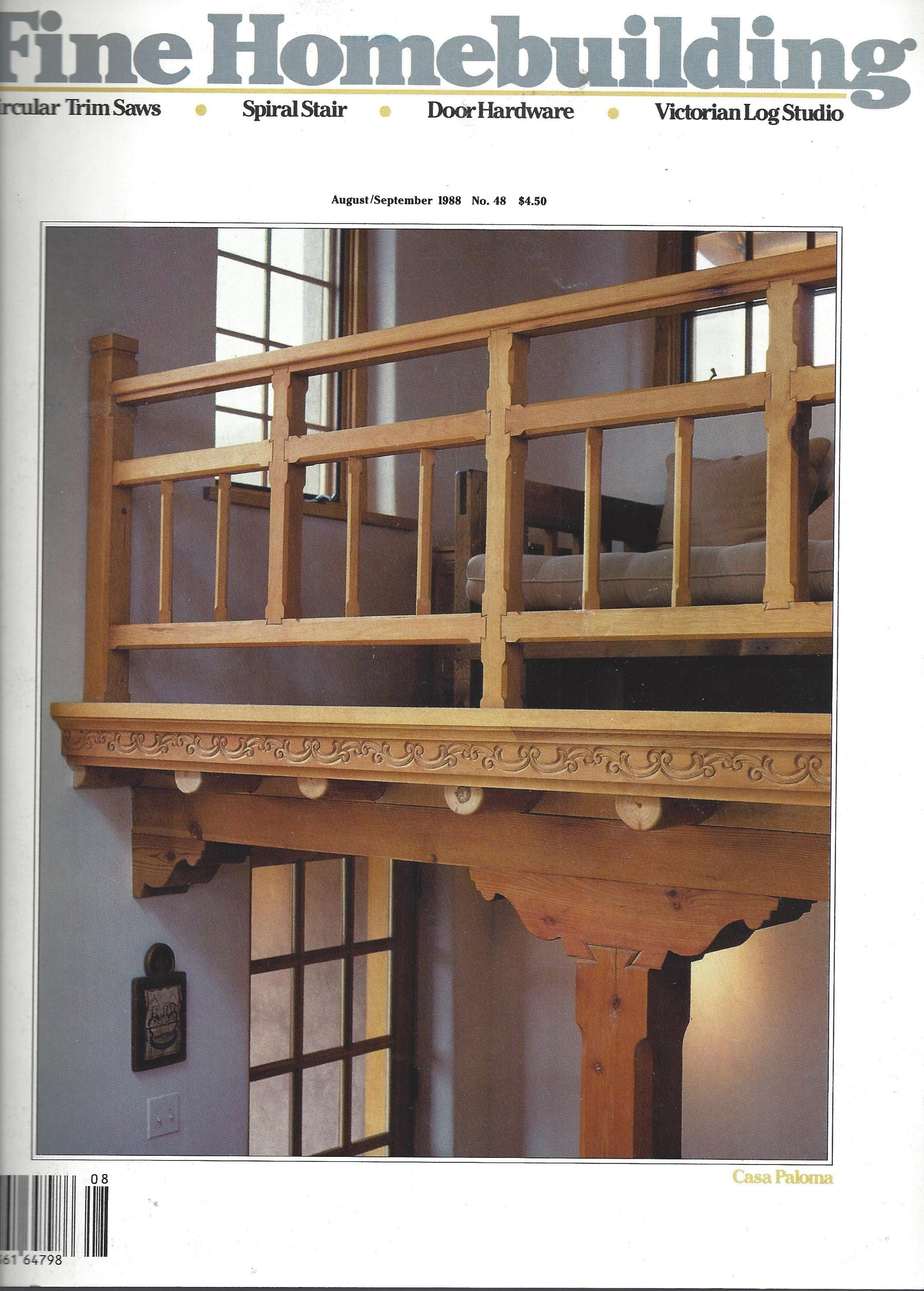 Fine Homebuilding Casa Paloma Hollow Post Spiral Stair   Building A Spiral Staircase Wood   Attic Stairs   Staircase Ideas   Outdoor Spiral   Curved Staircase Design   Attic Ladder