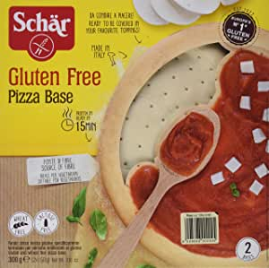 Dr. Schar Base Pizza - Paquete de 8 x 300 gr - Total: 2400