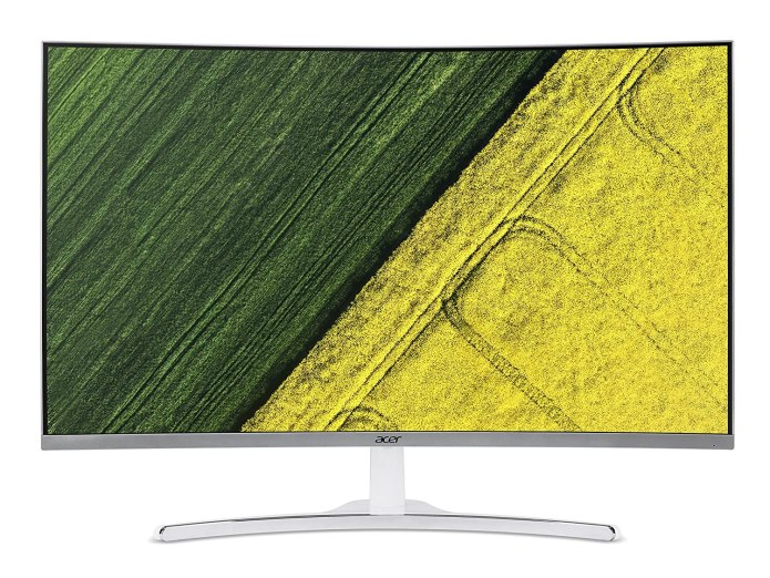 Acer 31.5 Inch Best Monitors Under 10000 in India for Gaming and Work 2021