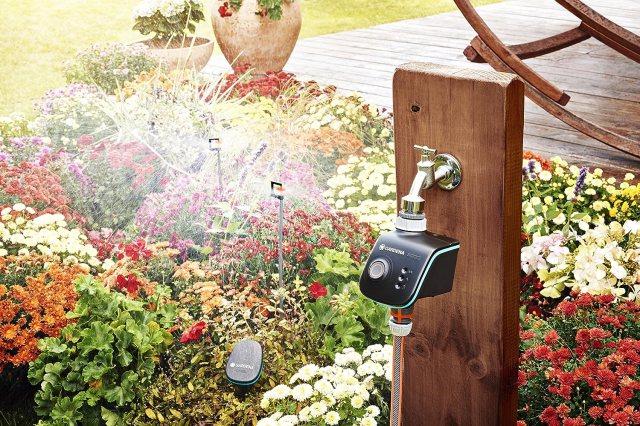 Smart Water Control et Smart Sensor de l'arrosage connecté de Gardena