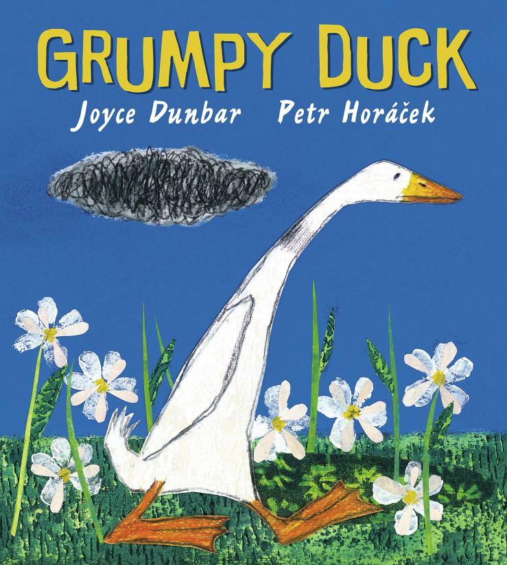 Image result for Grumpy duck / Joyce Dunbar, Petr Horáček.