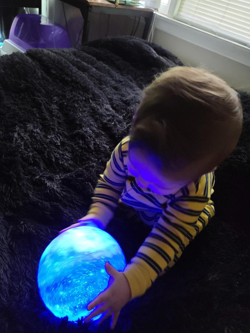 16 Color 3D Galaxy Star Kids LED Luna Lamp 15CM AU photo review