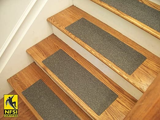 Amazon Com Essential Vinyl Stair Treads Nfsi Certified High | Self Stick Carpet Stair Treads | Stair Nosing | Stairway | Anti Slip | Stick Bullnose Wraparound | Beaudoin Utility Peel