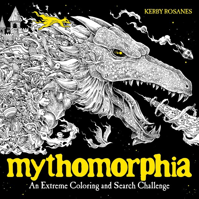 Amazon.com: Mythomorphia: An Extreme Coloring and Search Challenge