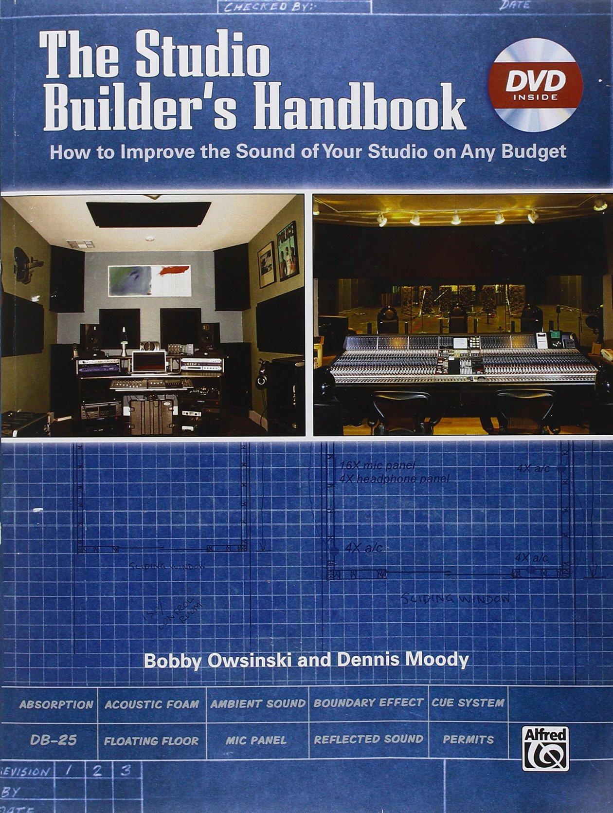 livro home studio studio builder's handbook