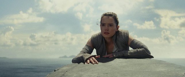 star wars girl with sea behind her