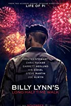 Billy Lynn's Long Halftime Walk (2016) Poster