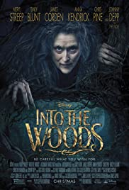 Into the Woods (2014) movie poster from IMDB. Links to IMDB page.