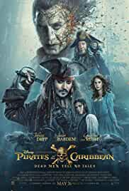Pirates of the Caribbean Dead Men Tell No Tales English