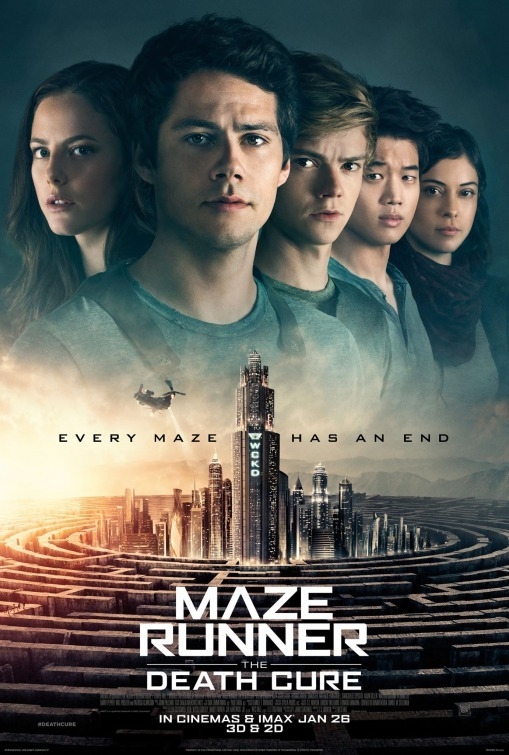 Thomas Brodie-Sangster, Kaya Scodelario, Dylan O'Brien, Ki Hong Lee, and Rosa Salazar in Maze Runner: The Death Cure (2018)