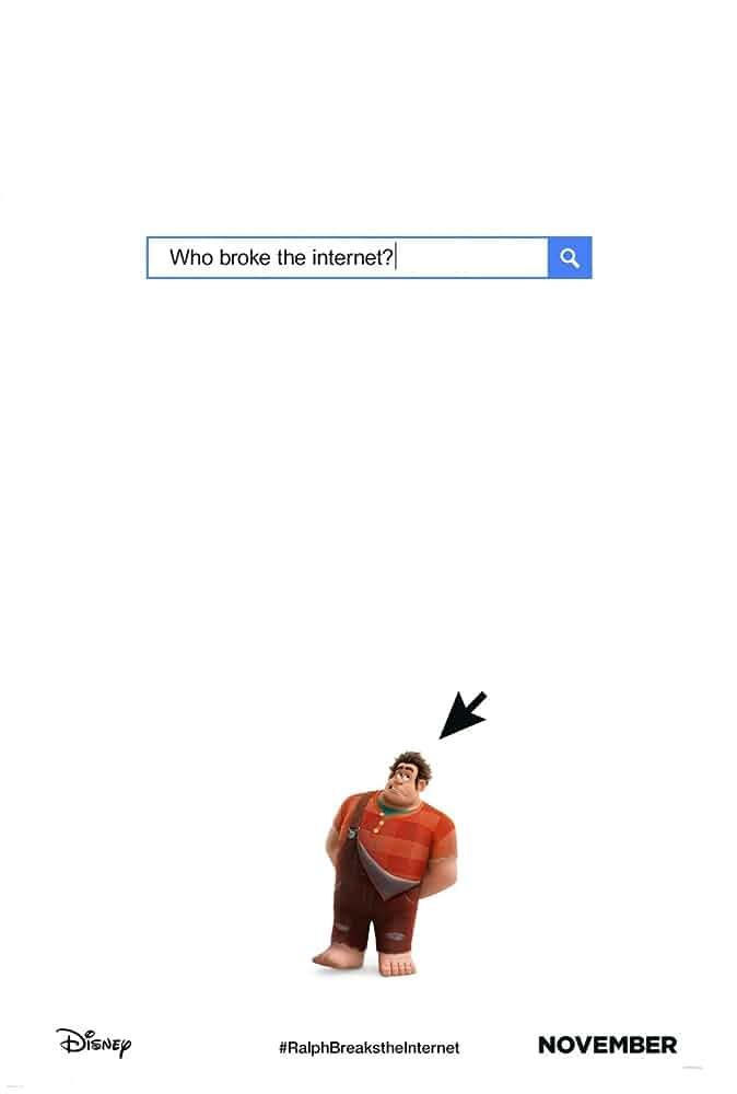 Ralph Breaks the Internet: Wreck-It Ralph 2 Poster