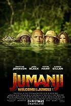 Jumanji: Welcome to the Jungle (2017) Poster