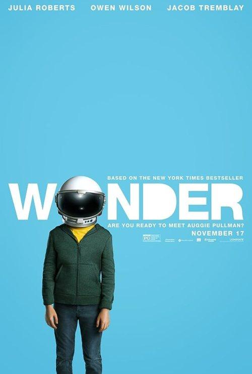November 2017 Adaptations - Wonder Poster