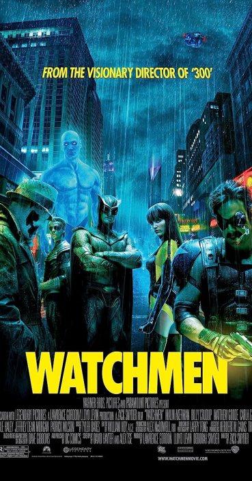 Resultado de imagen para Watchmen movie poster official
