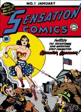 Sensation Comics (1942-1952) #1 - Comics by comiXology: Web UK