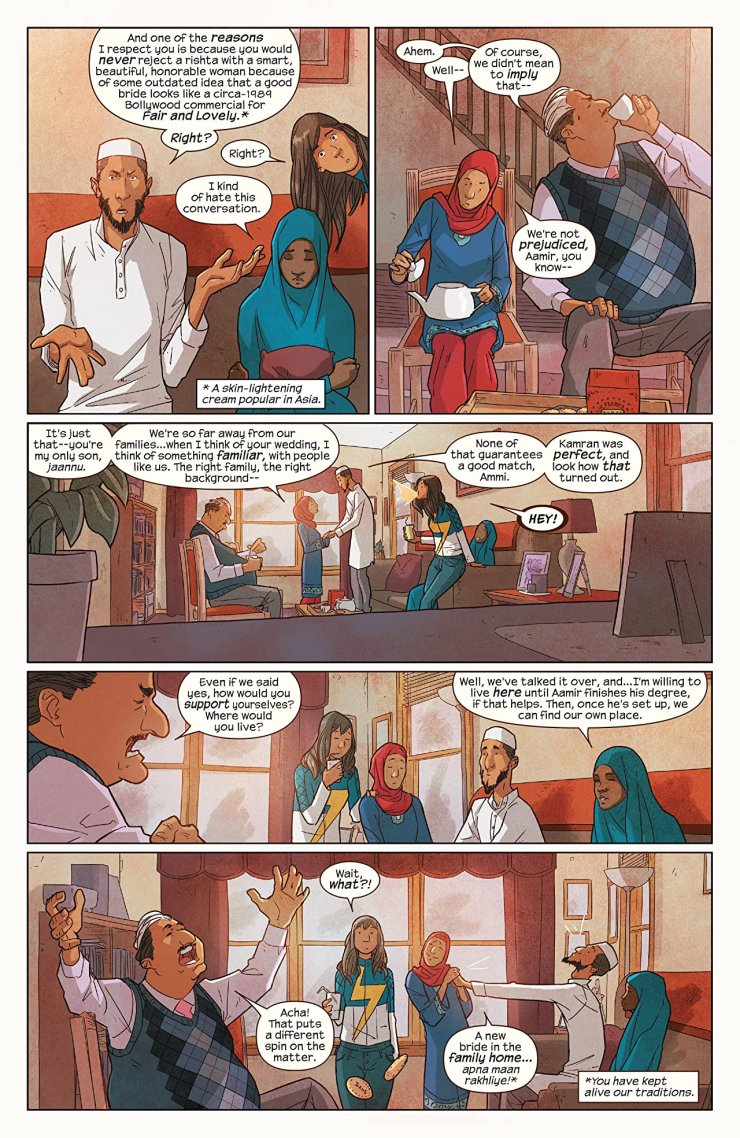 Living up to expectations with Ms. Marvel: How Kamala Khan teaches South Asian Americans to be themselves